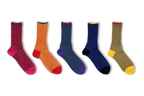 BRU NA BOINNE × decka quality socks Twin Course Socks