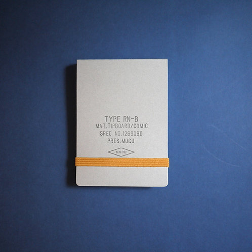 Mucu Pocket Ringnote - Gray