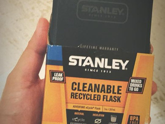 【BACK IN STOCK・STANLEY CLEANABLE RECYCLE FLASK】