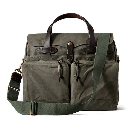 Filson 24 Hour Tin Briefcase - Otter Green