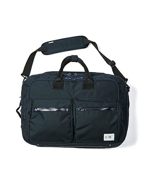 F/CE. Authentic 3 Way Briefcase - Indigo Blue