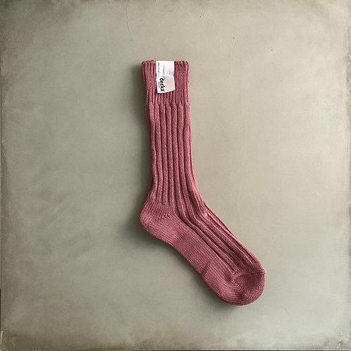 Decka Plain Socks 56N - Flamingo