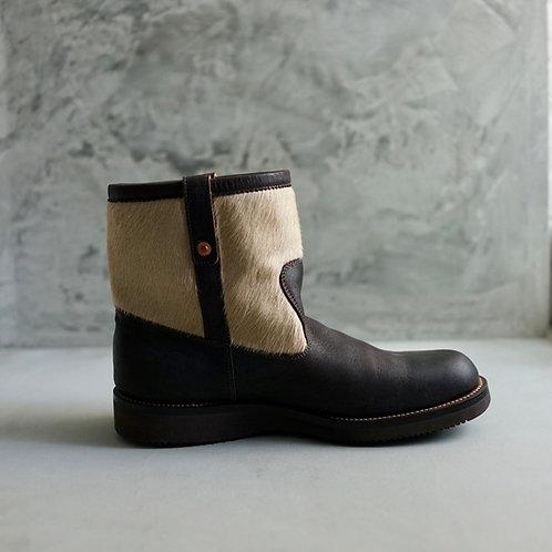 Anchor Bridge Kudu Leather Pecos Boot - B. Choco
