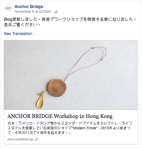 ANCHOR BRIDGE - ANCHOR BRIDGE WORKSHOP