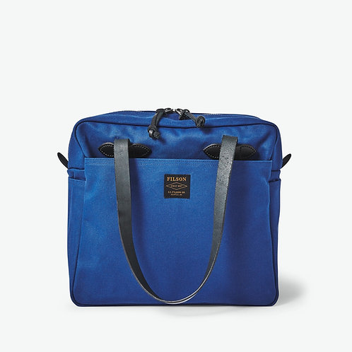 Filson Zippered Twill Tote - Flag Blue