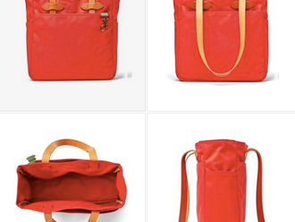 【FILSON RUGGED TWILL TOTE NEW COLOR MACKINAW RED】