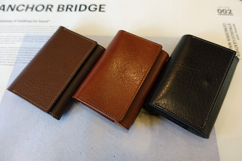 Anchor Bridge Italian Leather New Card Case
