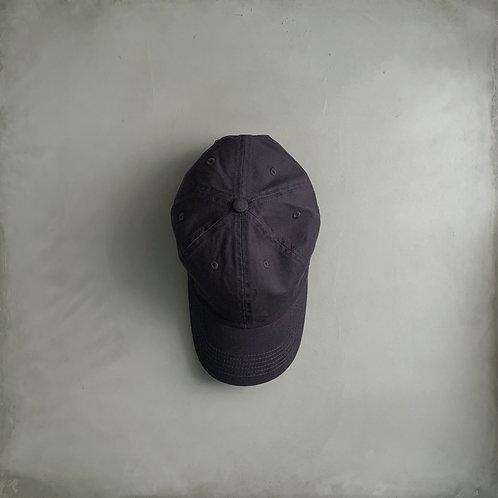 Twill Baseball Cap - Charcoal