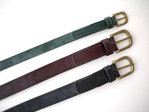 Anchor Bridge Bridle Leather Belt