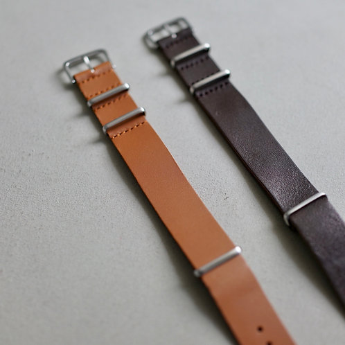 Made in Japan Nato Leather Watch Strap