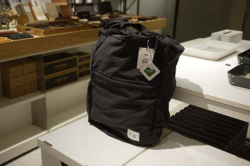 F/CE. Wash Nylon Packable 3 Way Tote Bag - Black