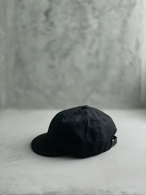 Morno Short Brim Basic Cap - Black