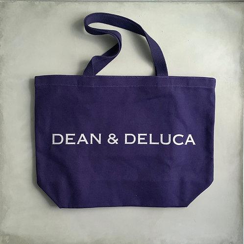 Dean and Deluca Canvas Tote Bag - Navy (Special Edition)