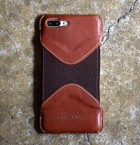 Roberu iPhone 7P / 8P Case - Brown