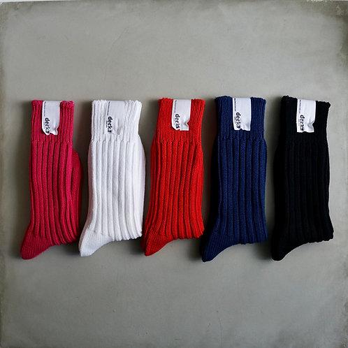Decka Plain Socks 56N - 2nd Collection