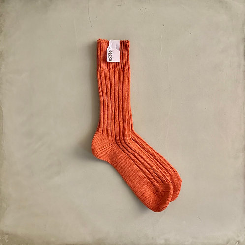 Decka Plain Socks 56N - Orange
