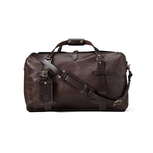Filson Weather Proof Leather Medium Duffle Bag