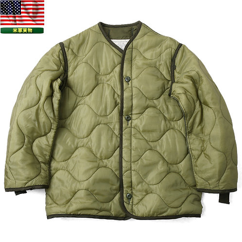 US Army Field Jacket Liner - Olive Drab