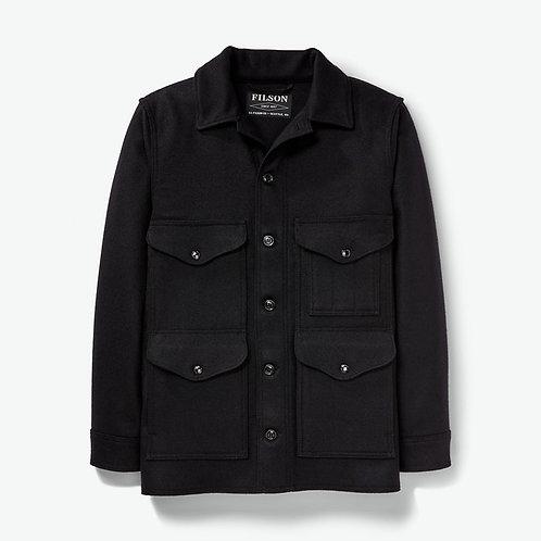 Filson Mackinaw Wool Cruiser Jacket - Dark Navy