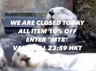 【WE ARE CLOSED TODAY・ALL ITEM 10% OFF】