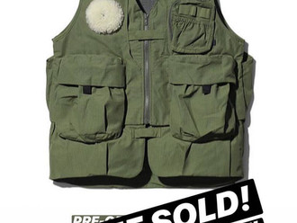 【MODERN TIMES TOKYO SPECIAL DELIVERY・SNOW PEAK UTILITY VEST】