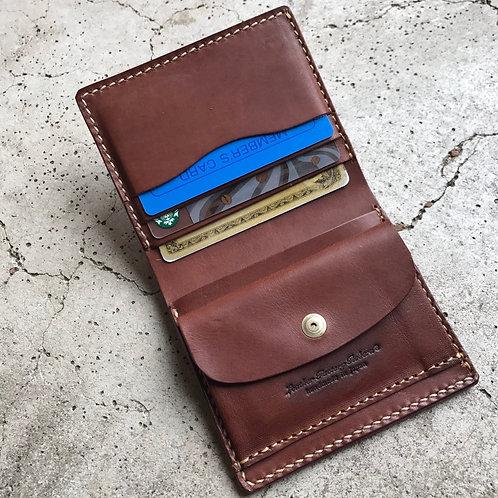 Roberu Italy Vachetta Leather Billfold Coin Wallet