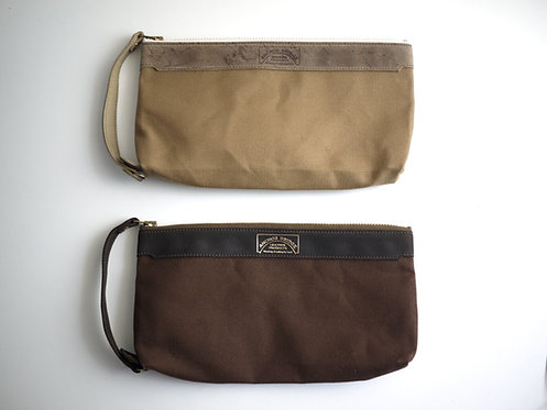 Anchor Bridge Kudu Leather Travel Pouch