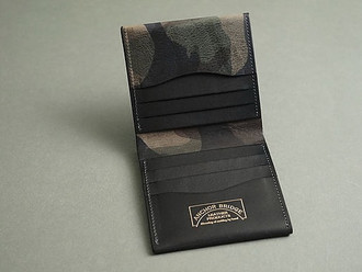 【HANDMADE IN JAPAN・ANCHOR BRIDGE CAMO LEATHER WALLET】