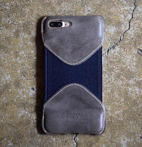 Roberu iPhone 7P / 8P Case - Gray/Navy