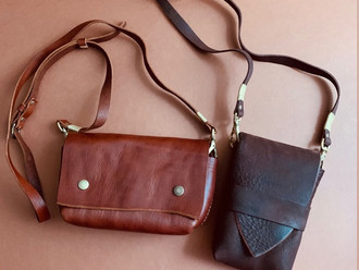 【NEW ARRIVAL・HANDMADE IN JAPAN - ROBERU LEATHER CAMERA POUCH】