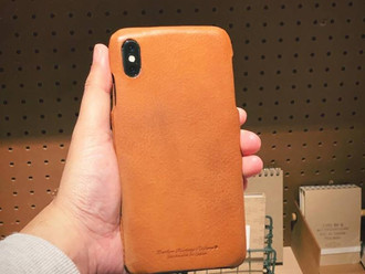 【ROBERU ITALY LEATHER iPHONE XS / MAX CASE・HANDMADE IN JAPAN】