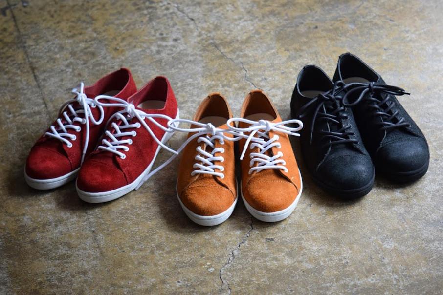 Roberu Suede Leather Sneaker