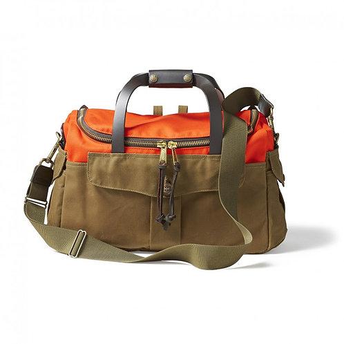 Filson Heritage Sportsman Bag - Orange / Dark Tan