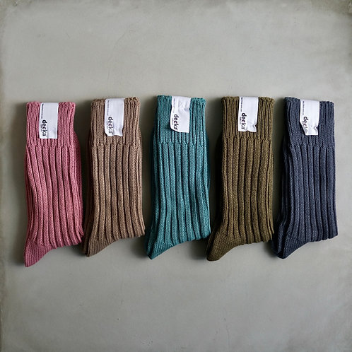 Decka Plain Socks 56N - 3rd Collection