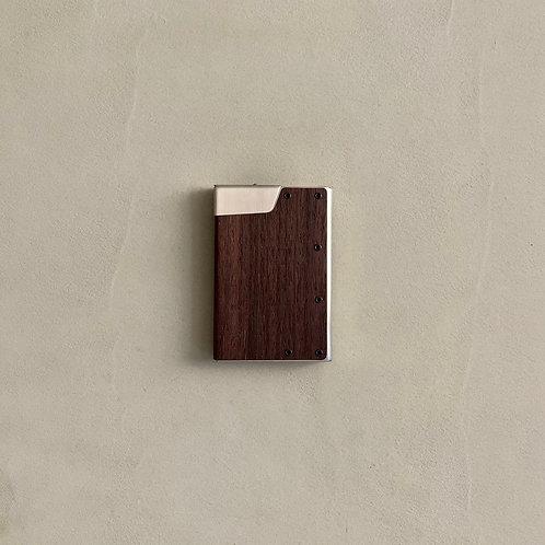 Claustrum CC Biz Card Case - Rose Wood