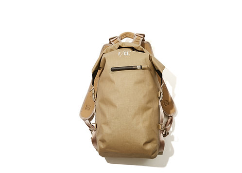 F/CE. No Seam Zip Lock Backpack - Beige