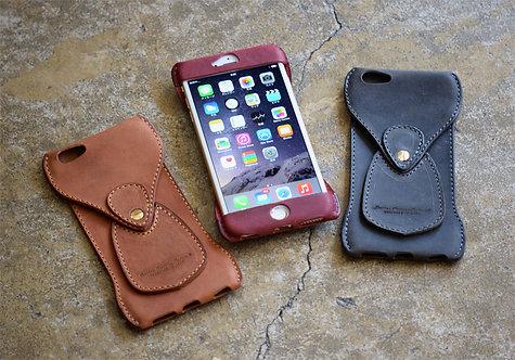 Roberu New Shading Leather iPhone 6/7/8 Plus Case