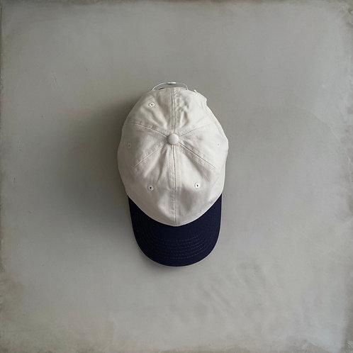 USA Baseball Cap - Natural × Navy