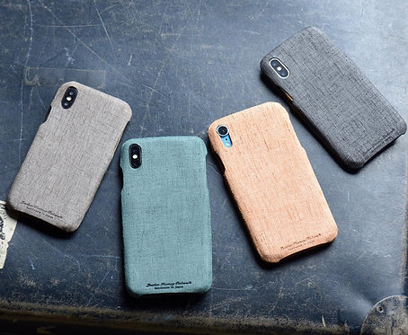 Roberu Italy Emboss Leather iPhone Case