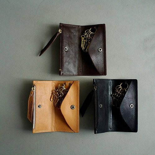 Roberu Italy Leather Key & Coin Case