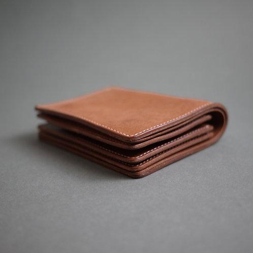 Anchor Bridge Vachetta Leather Half Wallet