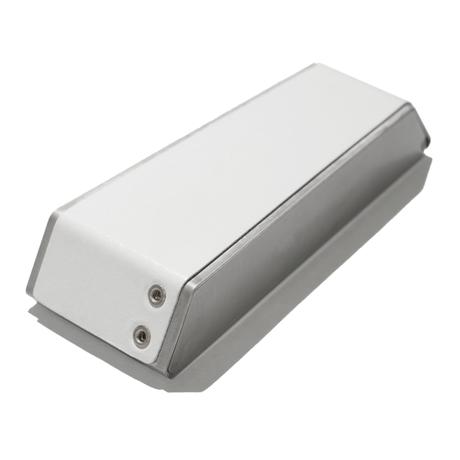 Claustrum Swing Key Case - Leather White