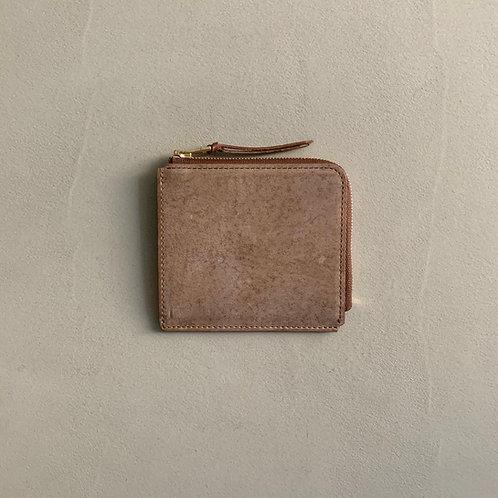 Anchor Bridge Kudu Leather New Zip wallet - Choco