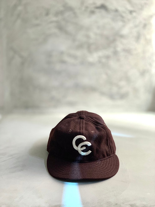 Ebbets Field Baseball Cap - Brown Made in USA