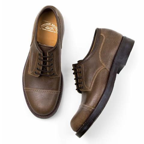Anchor Bridge Toe Cap Work Shoes