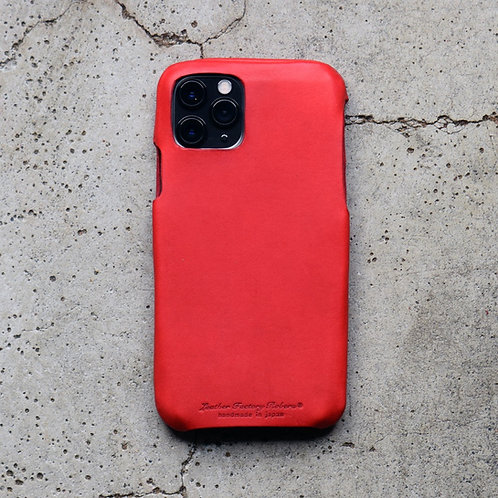 Roberu Italy Leather iPhone Case - Red