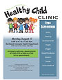 Eng_Healthy Child Clinic Flyer (Logan)_0