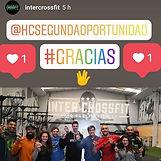 En el Inter Crossfit con atletas de esta