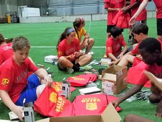 Valeo FC sends Back-To-School Supplies To Jamaica + Haiti