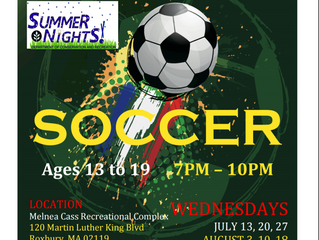 Valeo FC Partners With DCR Summer Nights to Create Free Indoor Soccer Program!